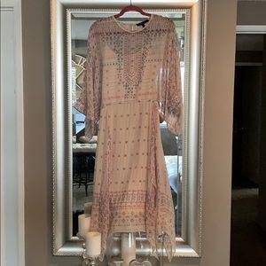 Bohemian Chiffon BCBG dress